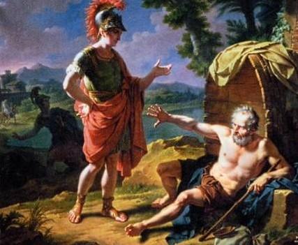 Platon échoue face à la cour de Denys
